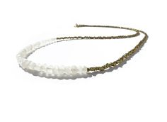 Items similar to white moonstone gemstone african brass necklace for women / beaded layering necklace / minimalist necklace / bohemian necklace on Etsy White Moonstone, Brass Necklace, African, Gemstones, Trending Outfits, Unique Jewelry, Handmade Gifts, Etsy, Vintage