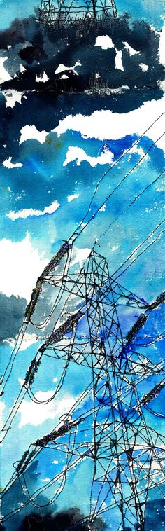 Pylons Secondary Research, Inside Outside, Power To The People, Canvas Ideas, Sketchbooks, Textile Design, Third, Illustration Art, The Outsiders