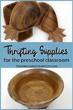 Teachers are on a budget but need classroom supplies. The solution? Thrift stores and garage sales! Check out this collection of ideas that includes a free printable list. #printable #classroom #supplies #materials #furniture #teachers #preschool #toddler #toys #looseparts #baskets #design #organization #backtoschool #teaching2and3yearolds Reggio Classroom, Classroom Layout, Classroom Supplies, Classroom Setting, Classroom Design, Preschool Classroom, Classroom Organization, Preschool Prep, Toddler Preschool