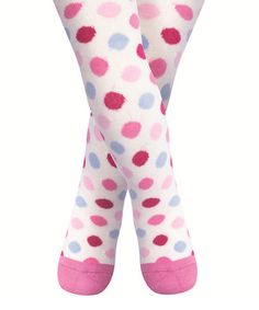 Dress little lovelies in the sweetness of these sweater-soft tights. Designed in the UK, they have plenty of stretch to give them a comfy fit.