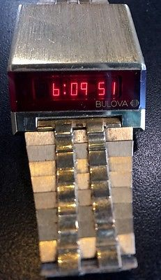 Bulova Digital Wristwatches eBay