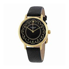 kate spade new york Womens 1YRU0790 Metro Analog Display Japanese Quartz Black Watch -- Click image to review more details.Note:It is affiliate link to Amazon. #photooftheday