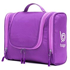 f93552d2ce Bago Hanging Toiletry Bag For Men   Women - Toiletries Travel Organizer  (Purple)