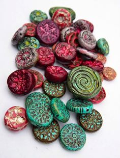 Rustic Clay Beads