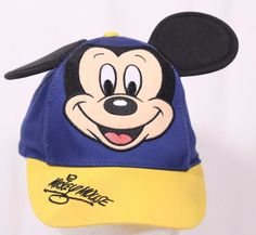 Mickey Mouse Youth Kids Snapback Hat Cap Walt Disney World Parks Disneyland