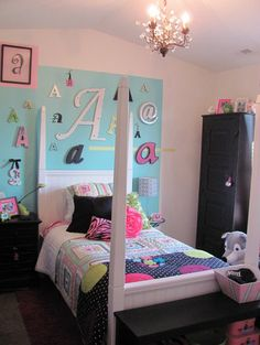 A-mazing Girl Bedroom - eclectic - kids -