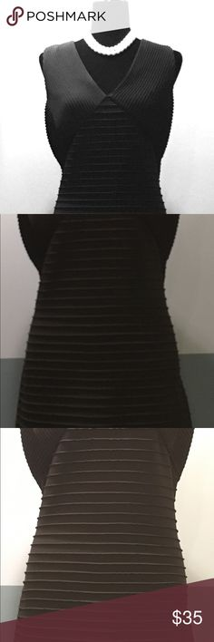 CALVIN KLEIN Black Sleeveless Stretch Dress CALVIN KLEIN Black Sleeveless Stretch Jersey Dress Sz 14  Condition: Excellent  Little to no signs of wear.  Thank you for viewing my product. If you have any questions please contact me. Calvin Klein Dresses