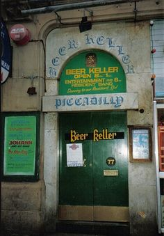 Pubs of Manchester: Bier (Beer) Keller, Piccadilly Manchester England, Manchester City, Pitcher And Piano, Bolton England, Chester Street, Portland Street, Grafton Street, Vintage Children Photos, Abandoned Churches