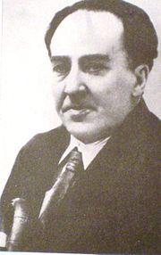 Antonio Cipriano José María y Francisco de Santa Ana Machado y Ruiz, known as Antonio Machado (26 July 1875 – 22 February 1939) was a Spanish poet and one of the leading figures of the Spanish literary movement known as the Generation of '98.