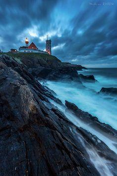 """Apocalyptic Ocean"" Pointe Saint-Mathieu Lighthouse - Brittany, France"