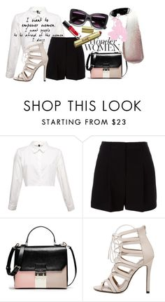 """""""Confidence"""" by briar-valiant on Polyvore featuring DKNY and Yves Saint Laurent"""