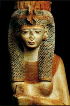 Meritamen,daughter and later wife of Ramesses ll.