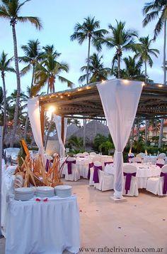 New Beach Gazebo at Majestic Colonial Punta Cana Destination