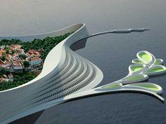 HydroLine (concept for Tallinn's coastline) - #arquitetura #architecture #design #building #construção #casa #house