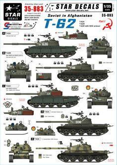 Soviet in Afghanistan (pt1). T-62 tanks