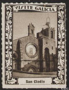 San Clodio (Ourense): [Viñeta con imagen de la fachada del Monasterio de Santa María de San Clodio en Leiro] / [fotógrafo, Luis Casado Fernández]. http://aleph.csic.es/F?func=find-c&ccl_term=SYS%3D001528660&local_base=MAD01