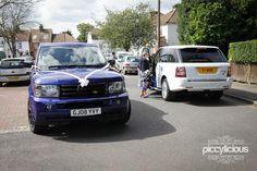 Range Rover Wedding Car