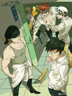 One Piece as Students ?