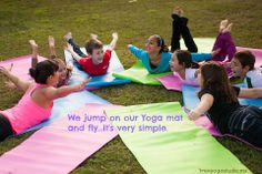 We have wings and we use it! #kidsyoga #quotes #children #inspiration #yoga