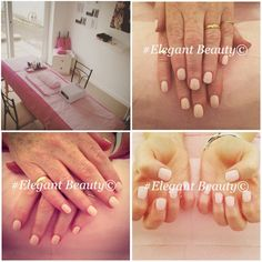 A busy evening at the new Elegant Beauty salon doing some wedding nails using CND Shellac #shellac #manicure #pink #weddingnails