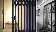 BLACK GRILL GATES