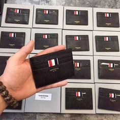 """384 Likes, 1 Comments - H FOR HYPE - Streetwear Shop (@hforhype_dotcom) on Instagram: """"Thom Browne cardholders. Available on the site! Free worldwide shipping with code FRESH."""""""