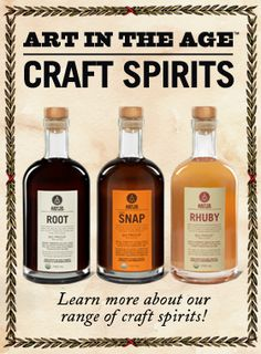 liquor labels simple snap