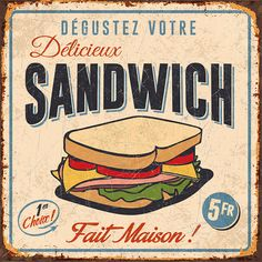 By bruno pozzo Pub Vintage, Vintage Tin Signs, Photo Vintage, Vintage Diy, Vintage Labels, Vintage Food, Vintage Pictures, Vintage Images, Etiquette Vintage