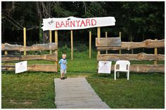 A visit to the Barnyard