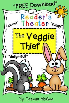 An engaging Reader's Theater script for grade 3 and strong readers in grade two. Also suitable for early fourth grade. Part of a set of five fun, classroom tested scripts!
