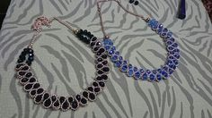 How to DIY Beaded Chain Necklace - Tutorial .