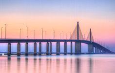 Violet Bridge by Lakshik Perera, via 500px