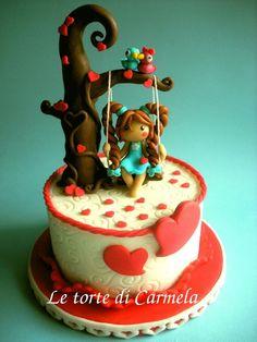 @KatieSheaDesign ♡❤#Cake ❥  Molly contest - cake made by Le torte di Carmela