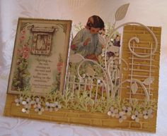 Jessica's Garden - MMTPT251 by susie australia - Cards and Paper Crafts at Splitcoaststampers
