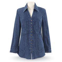 Soutache Shirt - Women's Clothing & Symbolic Jewelry – Sexy, Fantasy, Romantic Fashions