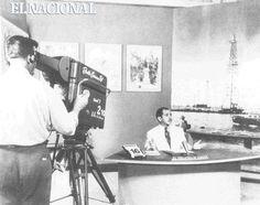 Observador Creole con Francisco Amado Pernia. Su primera transmision el 16 de noviembre de 1953.  Fuente: La televisión de Venezuela. 40 años de Radio Caracas Televisión - Autor: Antonio Olivieri