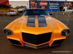 1971 Camaro from Car Fix -  If its going to be orange, make it an orange Camaro!