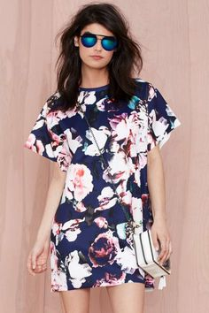 Finders Keepers Illuminati Floral Dress