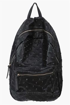 Simple Spike Backpack in Black