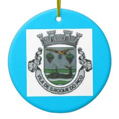 Sao Roque do Pico* Christmas Ornament