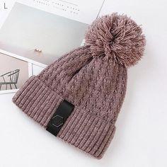 470683b1361 Womens Knit Pom Pom Bucket Beanie Cap Soft Comfortable Winter Warm Outdoor  Snow Hats