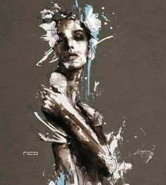 Florian Nicolle painting