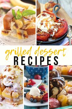 Candy Recipes, Cupcake Recipes, Pie Recipes, Cookie Recipes, Dessert Recipes, Grilled Desserts, Fun Desserts, Delicious Desserts, Grilling Recipes
