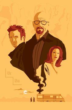 Breaking Bad Family! Walter White, Skyler White and Jesse Pinkman