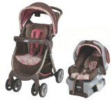 Graco FastAction Fold DLX Travel System, Jacqueline