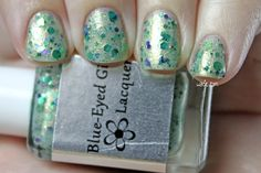 Swatch of Blue-Eyed Girl Lacquer Prototype VDay 6.1