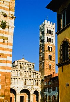 Cathedral Of St Martin Lucca  Italy