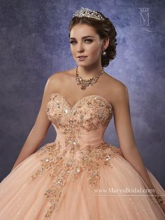 Mary's Bridal Princess Collection Quinceanera Dress Style 4Q491 - ABC Fashion