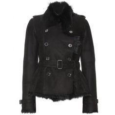 mytheresa.com - Burberry London - HASSENDEAN LAMB SHEARLING JACKET - Luxury Fashion for Women / Designer clothing, shoes, bags