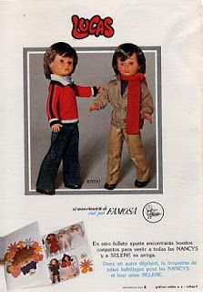 Lucas, amigo de Nancy de Famosa. Barbie, Rhett Butler, Nancy Doll, Doll Clothes, The Past, Childhood, Family Guy, Vintage, Photos